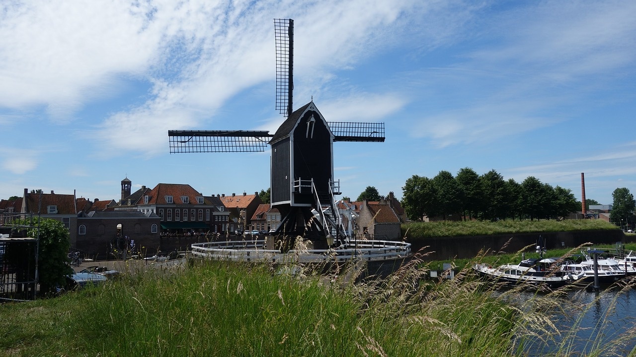 mill wicks netherlands free photo