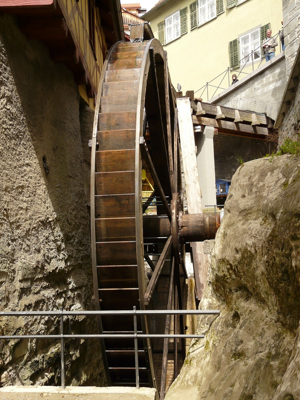 mill wheel waterwheel grind free photo