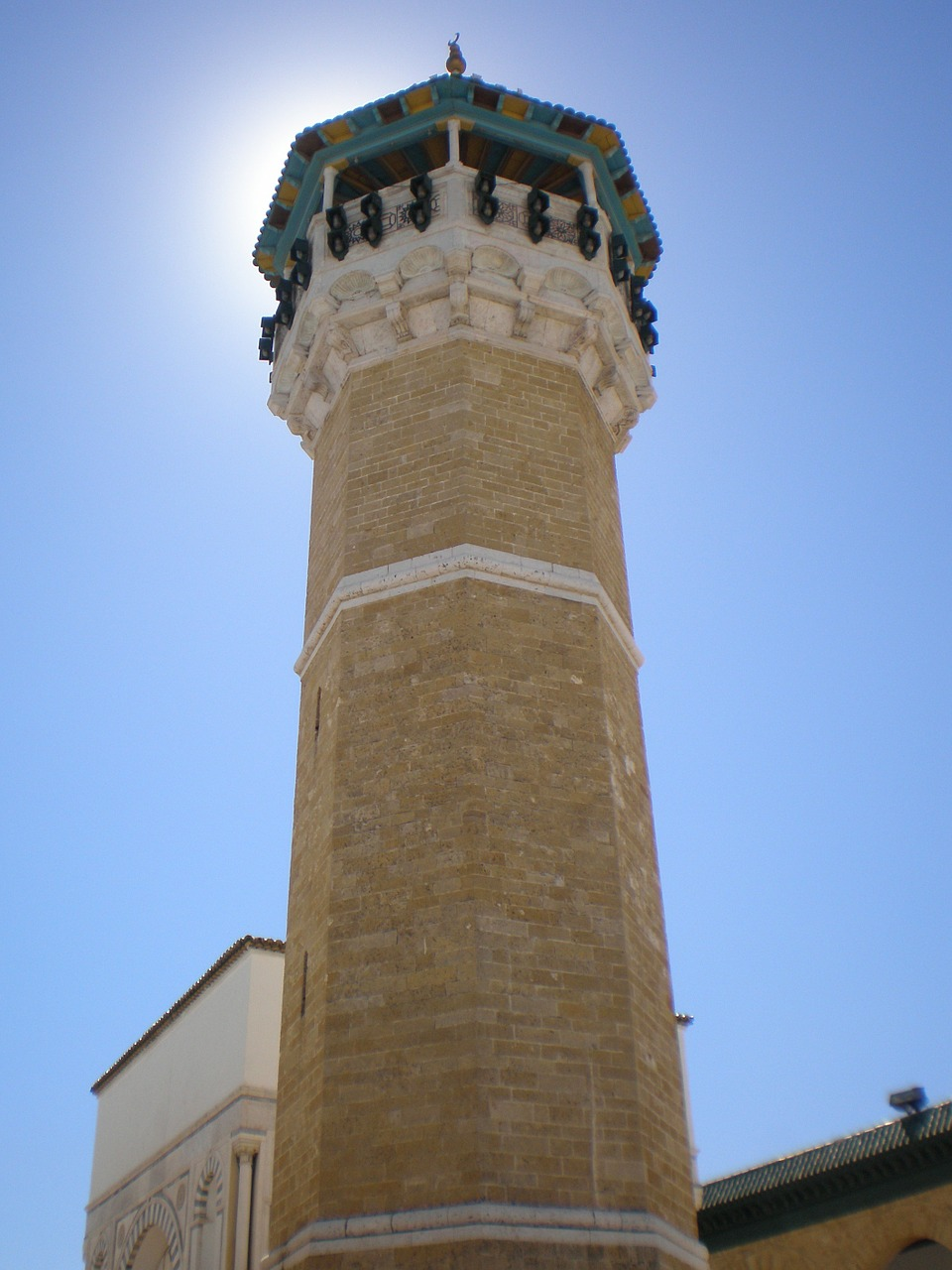 minaret tunisia arabic free photo