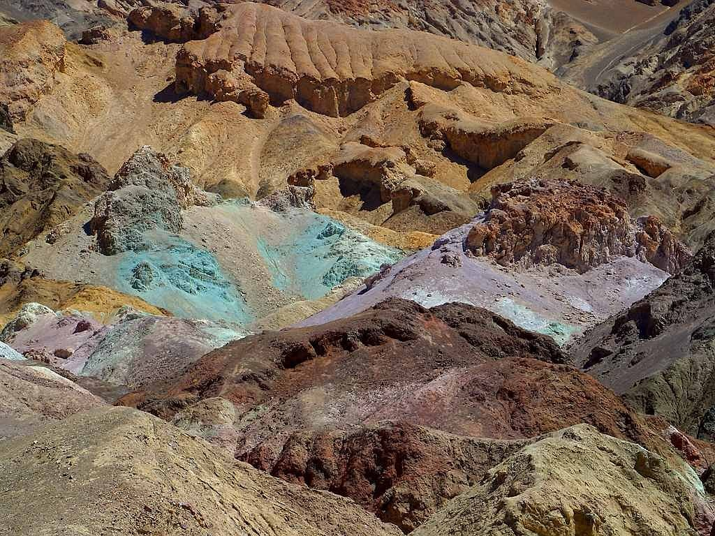 minerals death valley color free photo