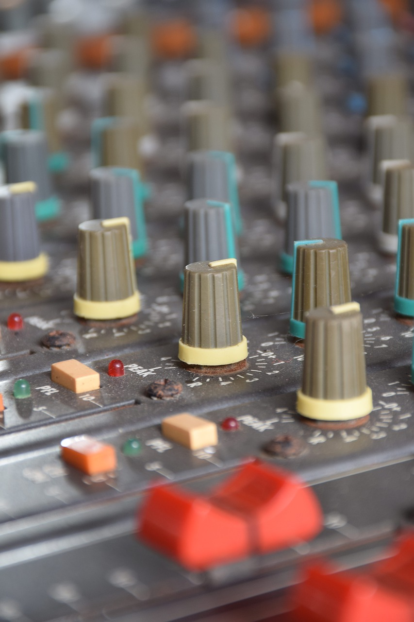 mixer  sound  music free photo