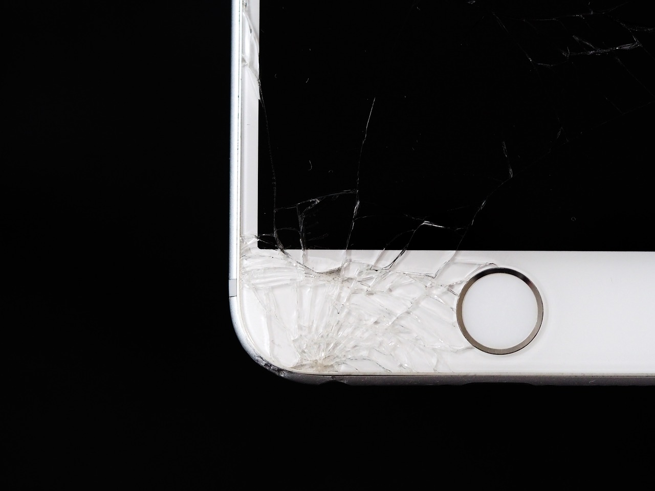 mobile phone broken free photo