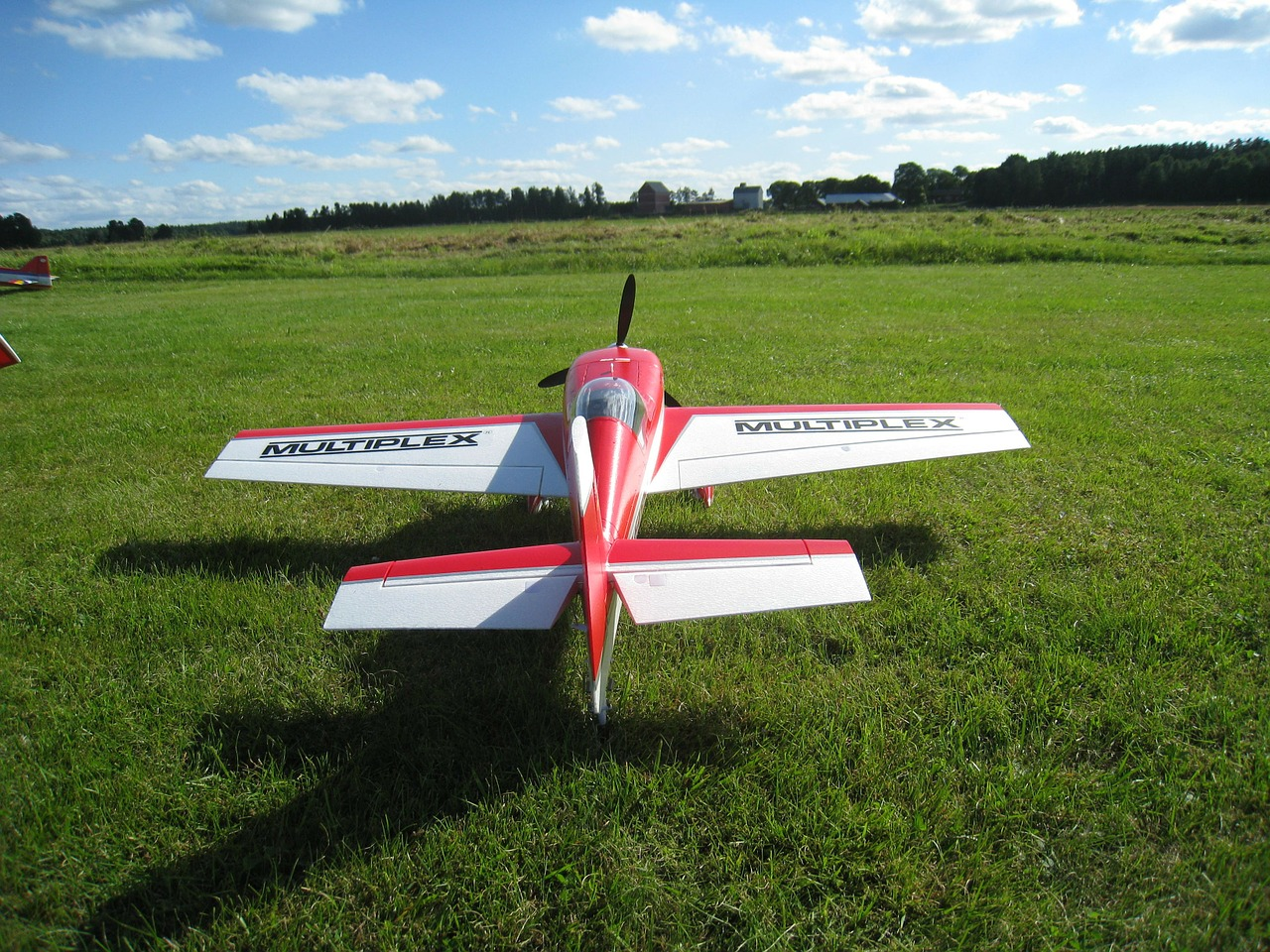 model airplane colors airfield free photo
