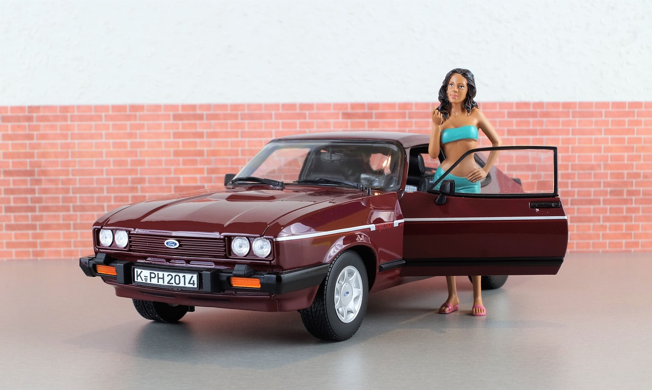 model car ford capri free photo