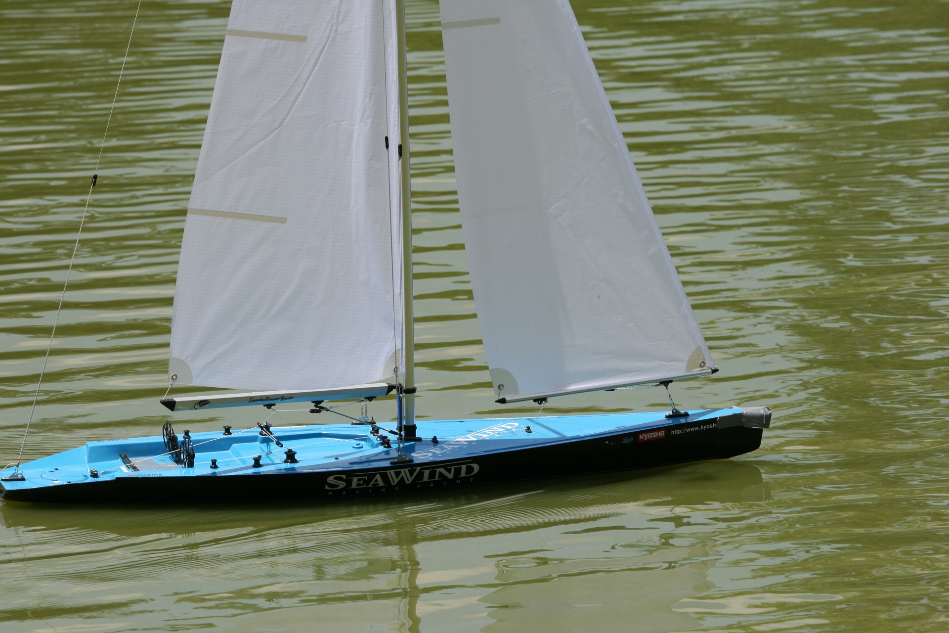 Boat,turquoise,model,pond,water - free photo from needpix com