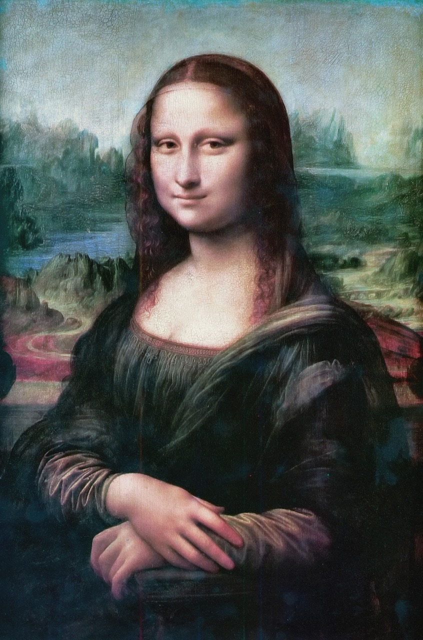 mona lisa smile the joconde free photo