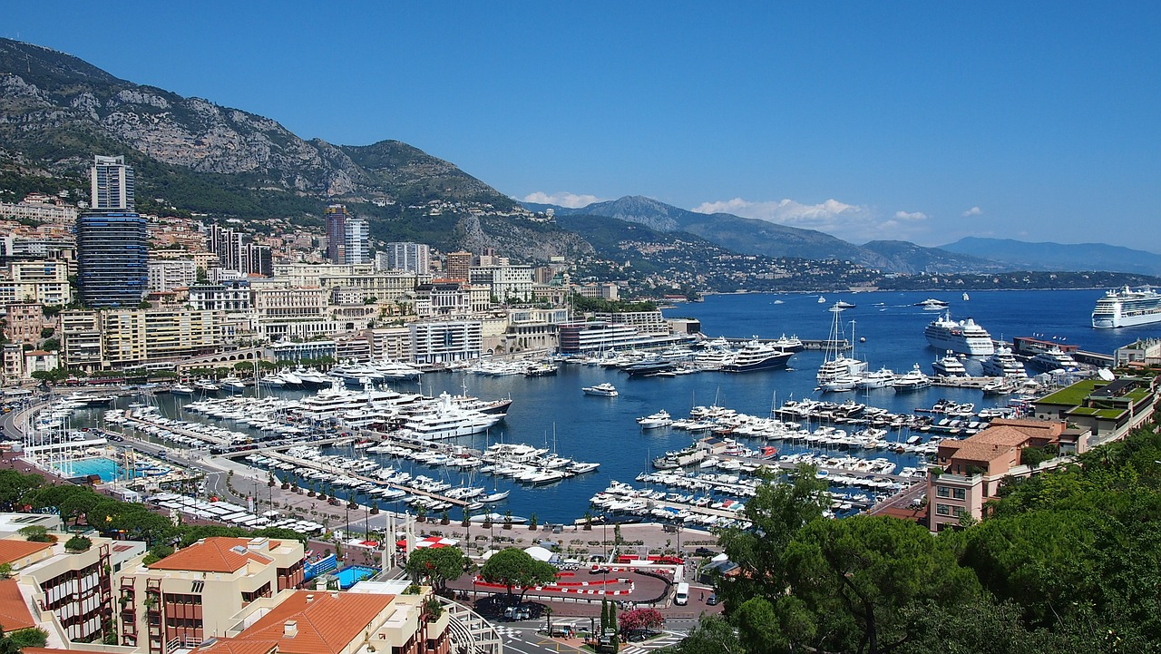 Monaco,french riviera,france,bay,cote d'azur - free image from ...