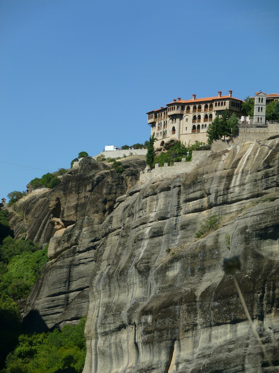 monastery meteora greece free photo