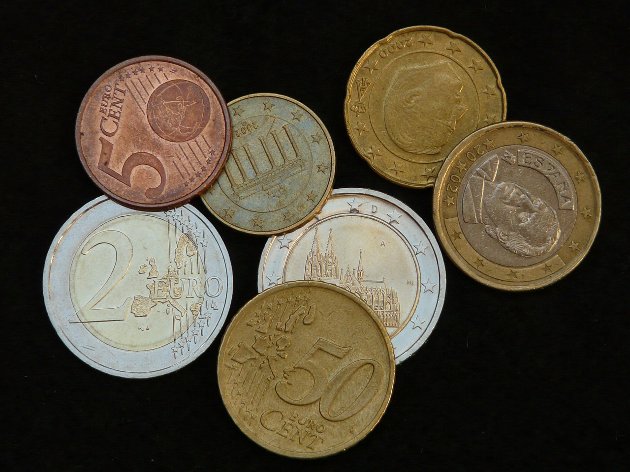 money coins specie free picture