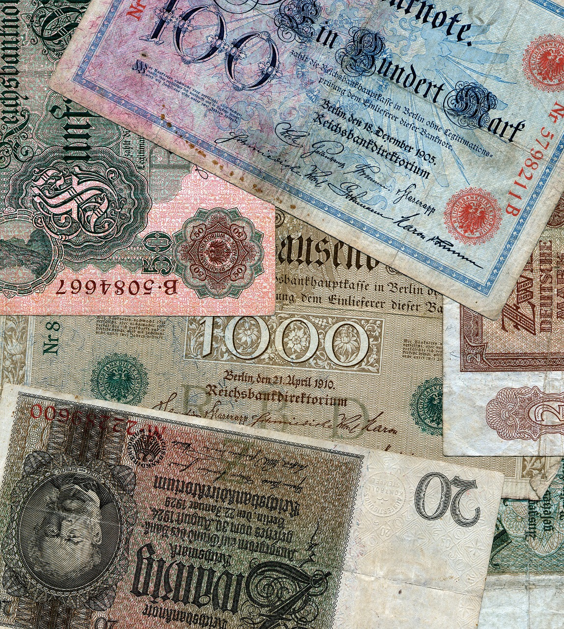 money currency inflation free photo