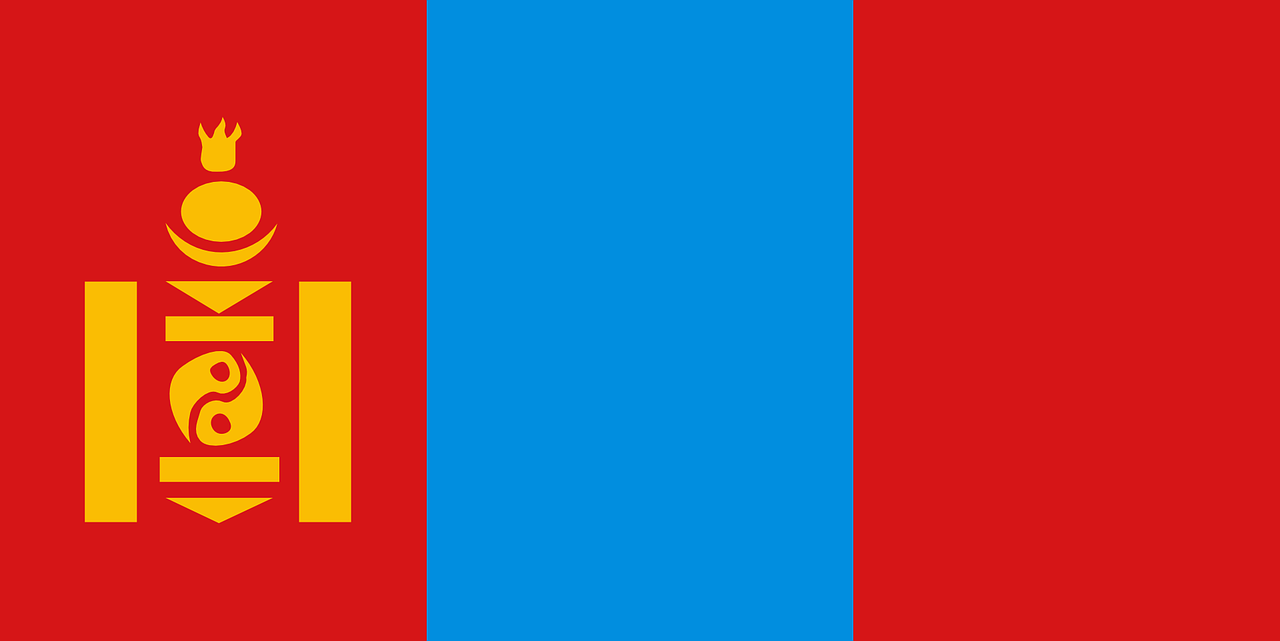 mongolia flag symbol free photo