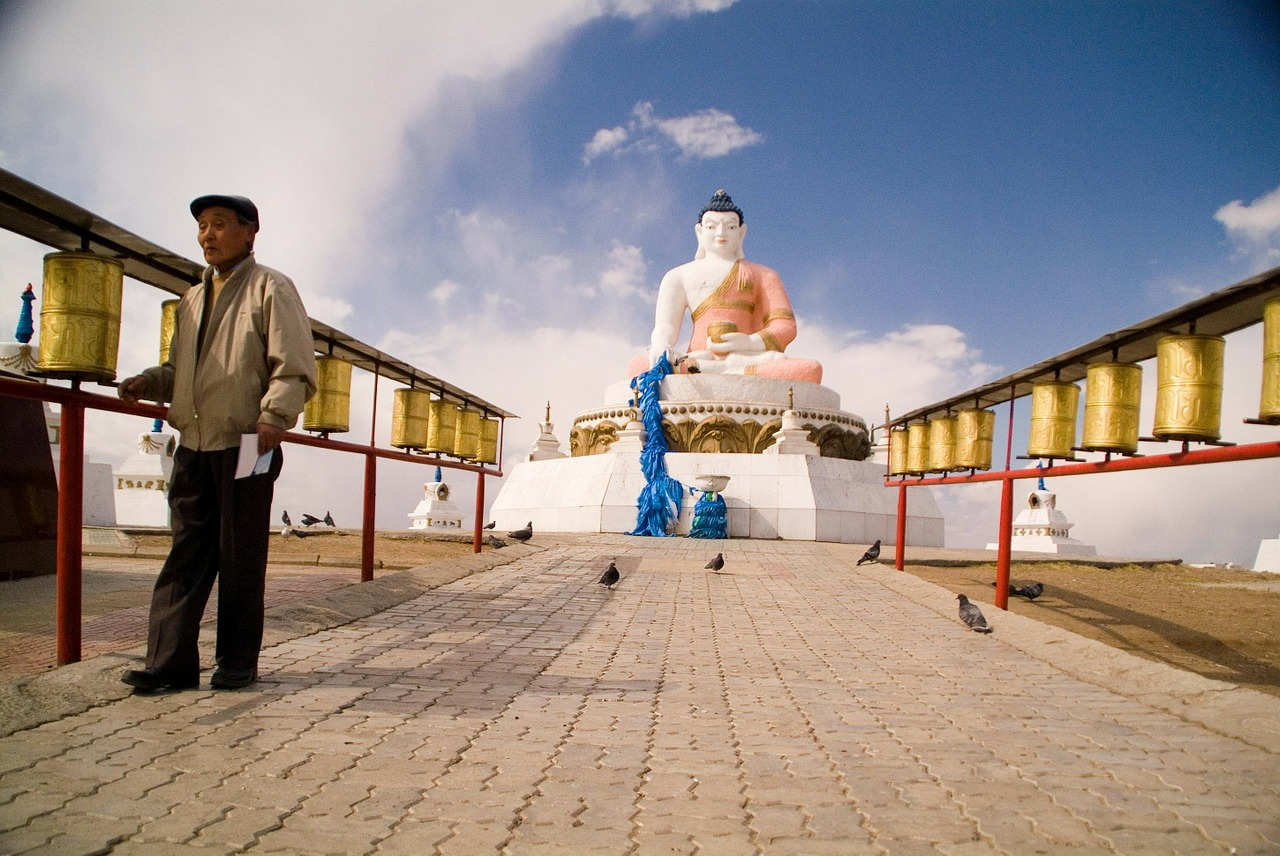 mongolia buddhist temple free photo