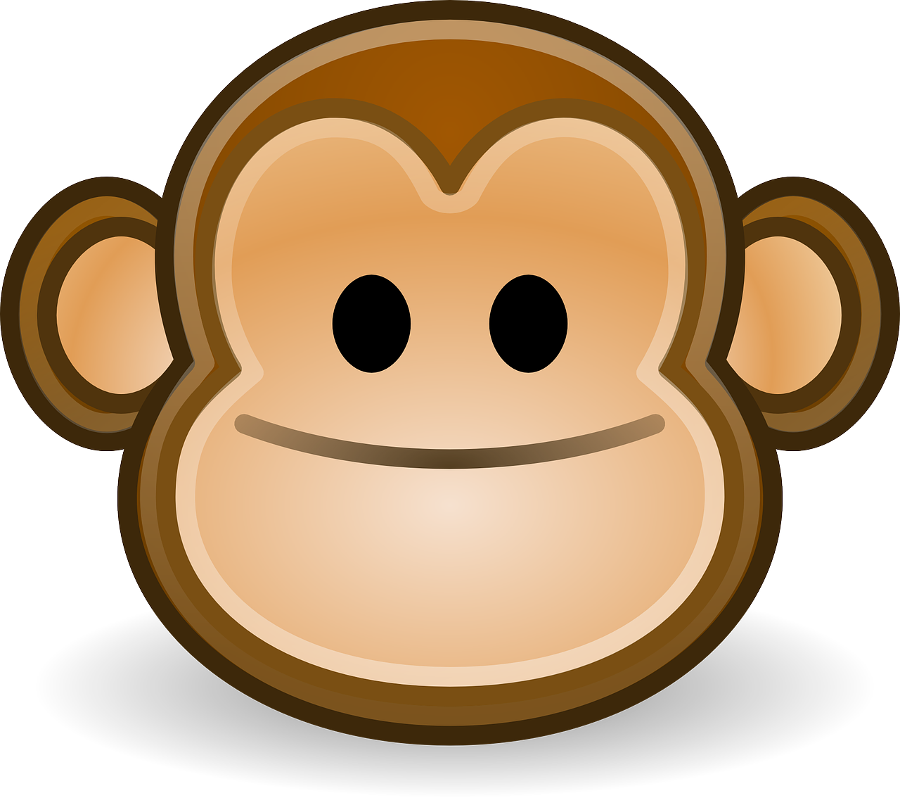 monkey smile happy free photo