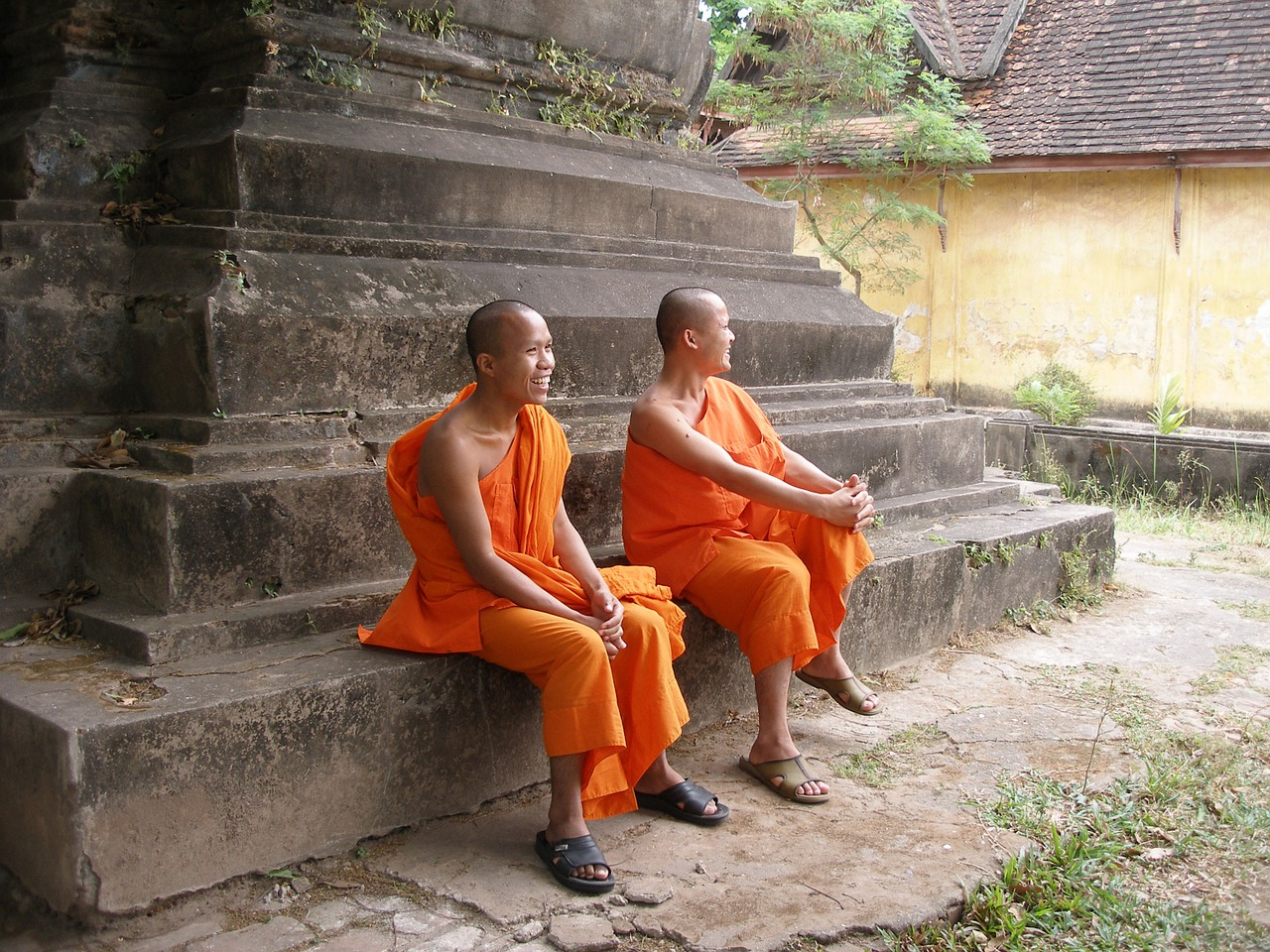 monks laos monks loas free photo