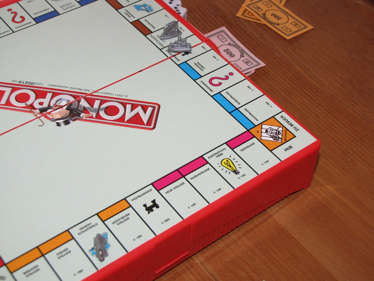 Monopoly,play,sociable,board game,gesellschaftsspiel - free image from  needpix.com