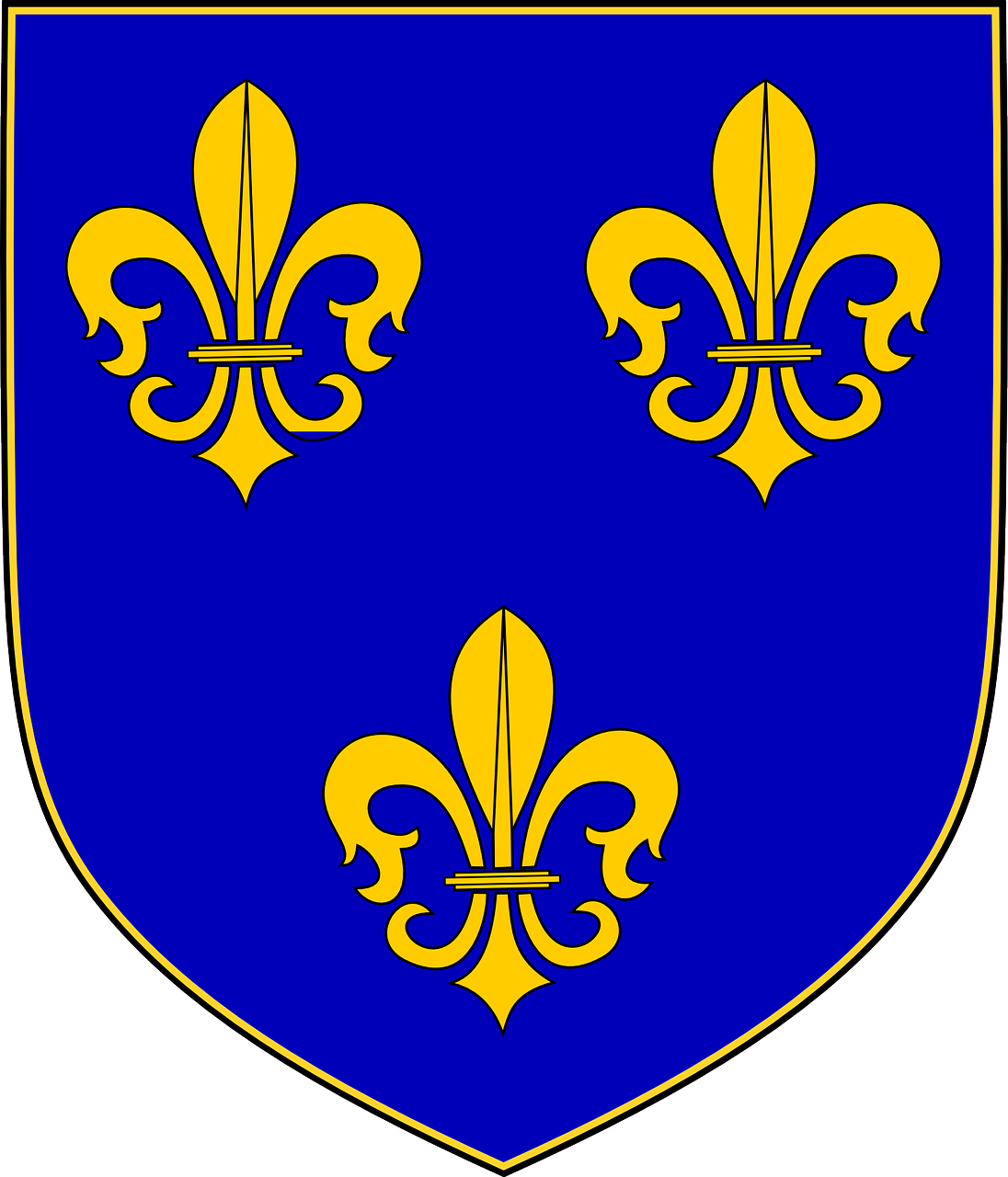 montgomery fluer de lis coat of arms free photo