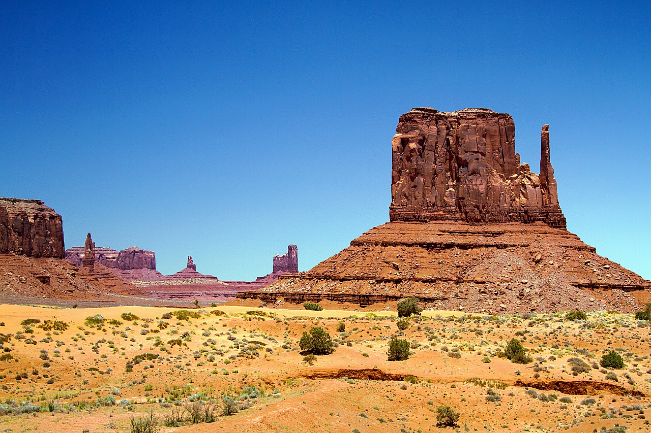 monument valley utah wild west free photo
