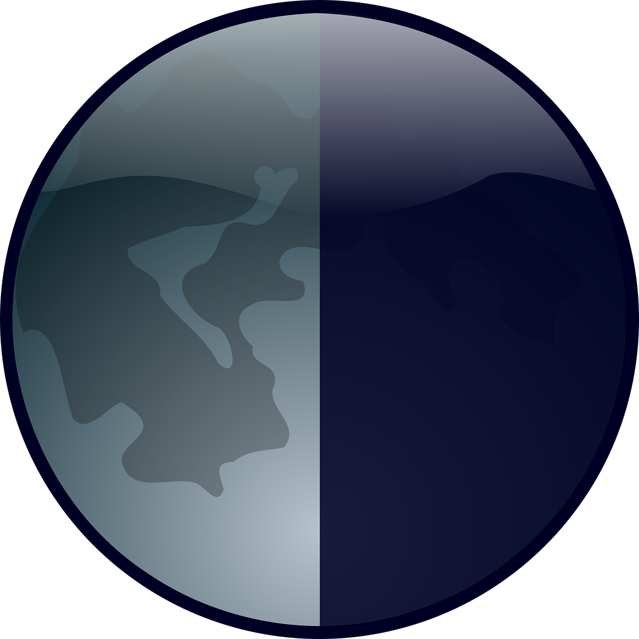 moon earth phase free photo