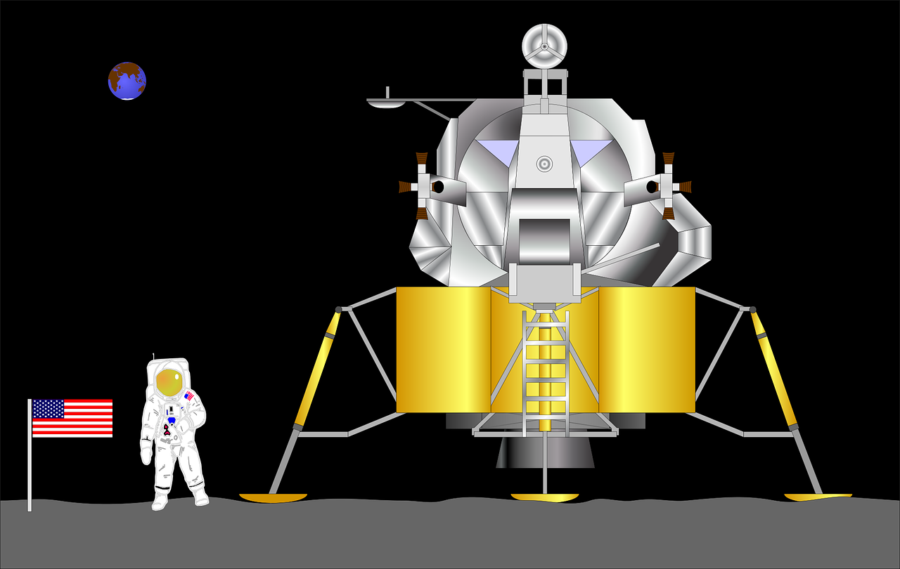 apollo spacecraft clipart - 900×700