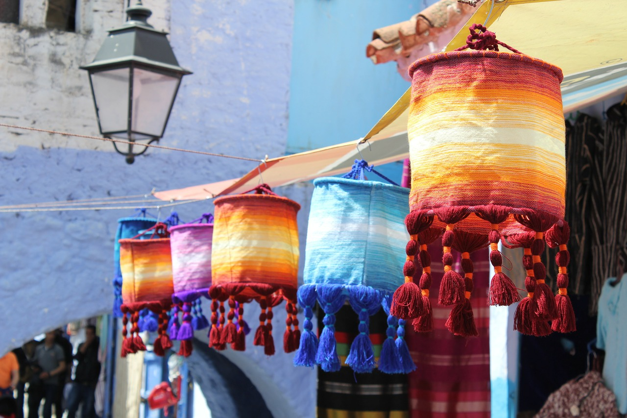 morocco chefchaouen crafts free photo