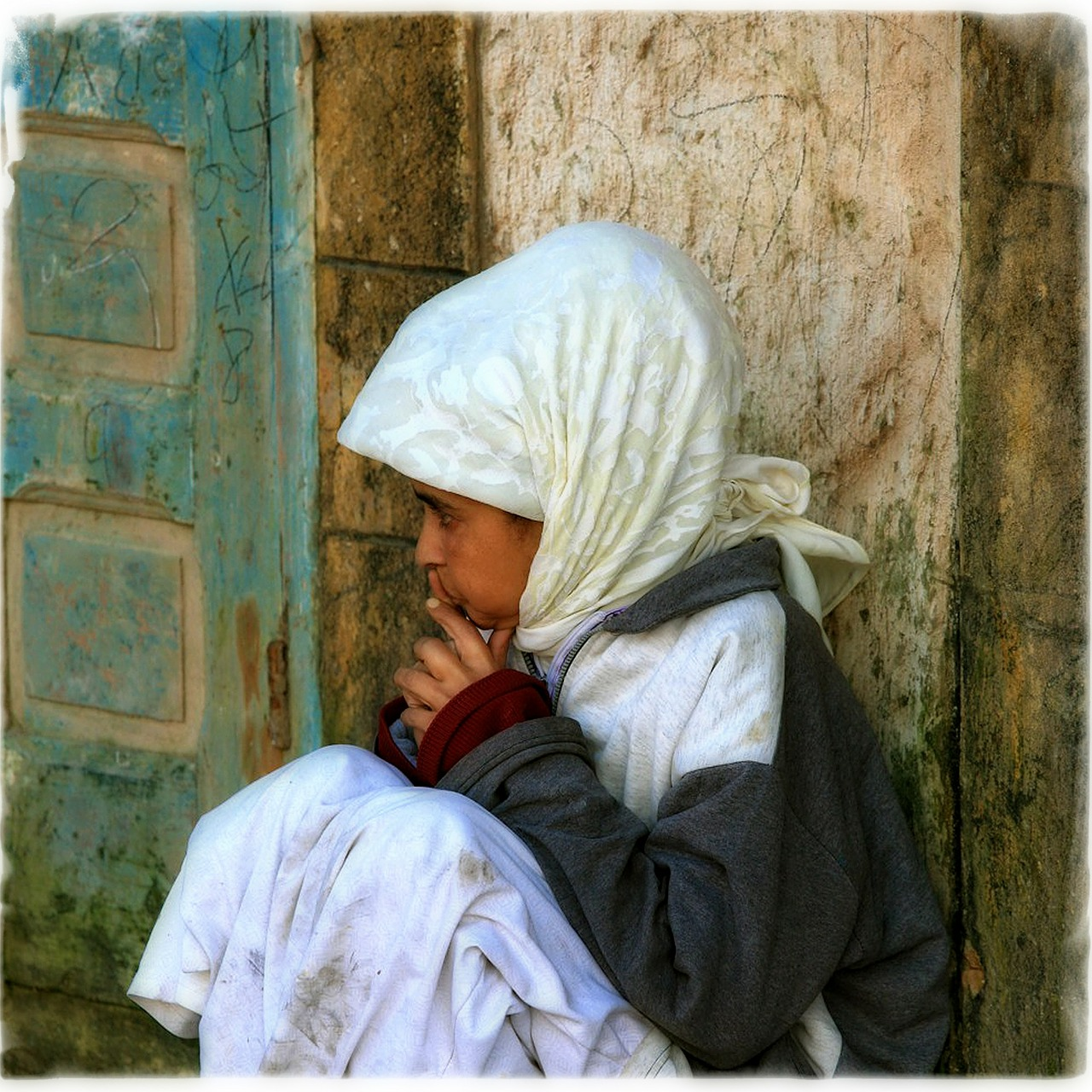 morocco girl child free photo