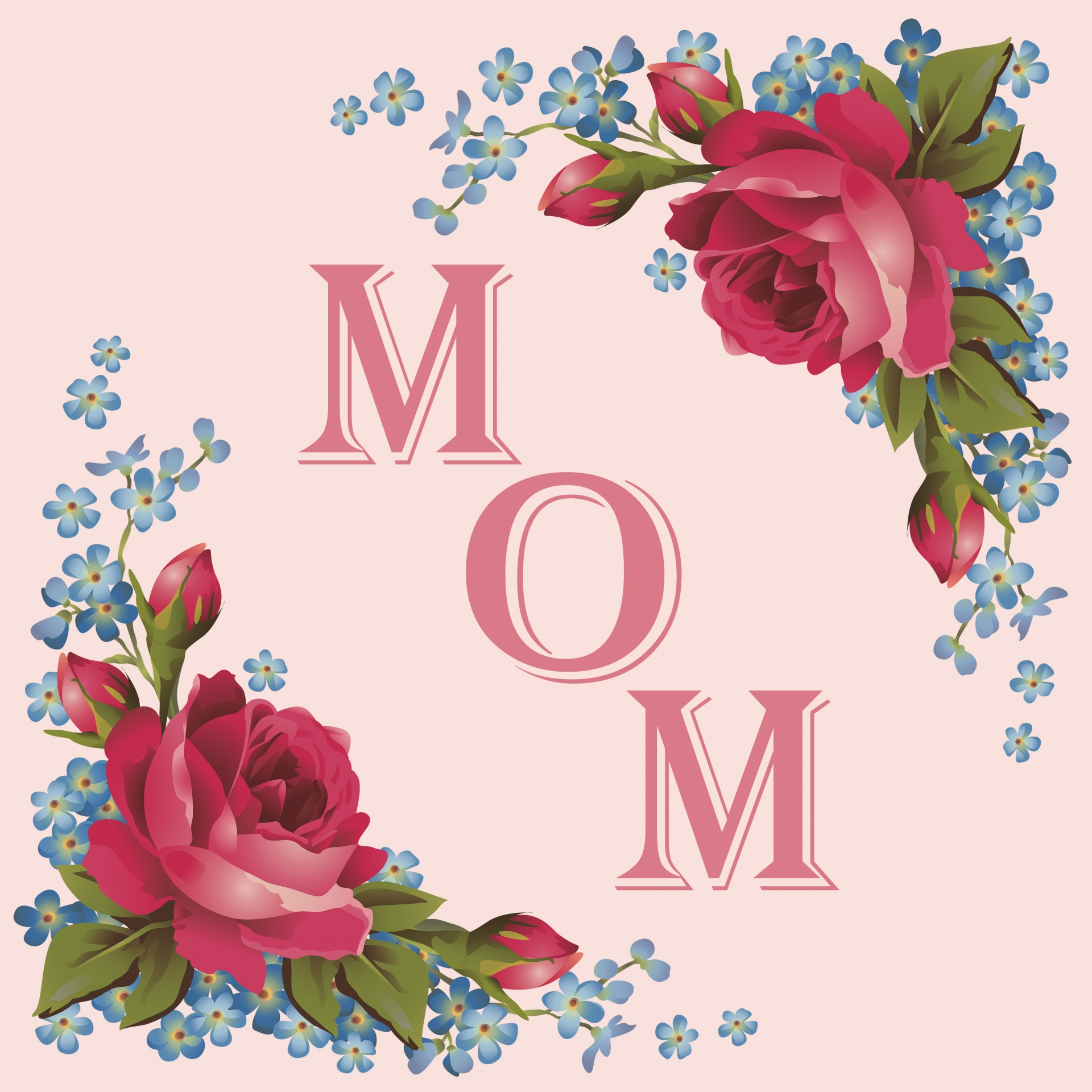 Mothersnbspday Card Mom
