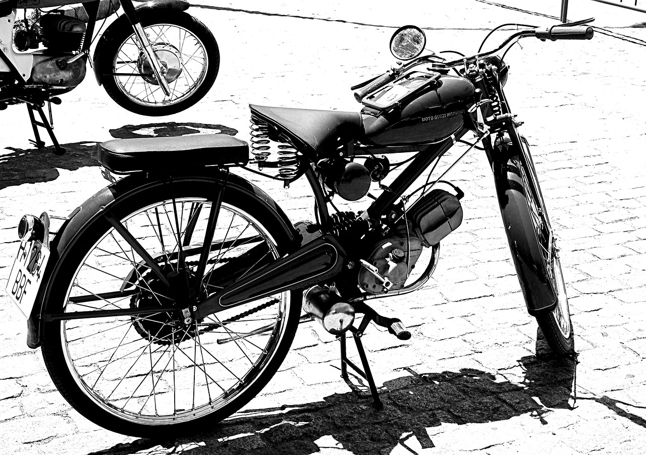 motorcycle,old bike,black and white,free pictures, free photos, free images, royalty free, free illustrations, public domain