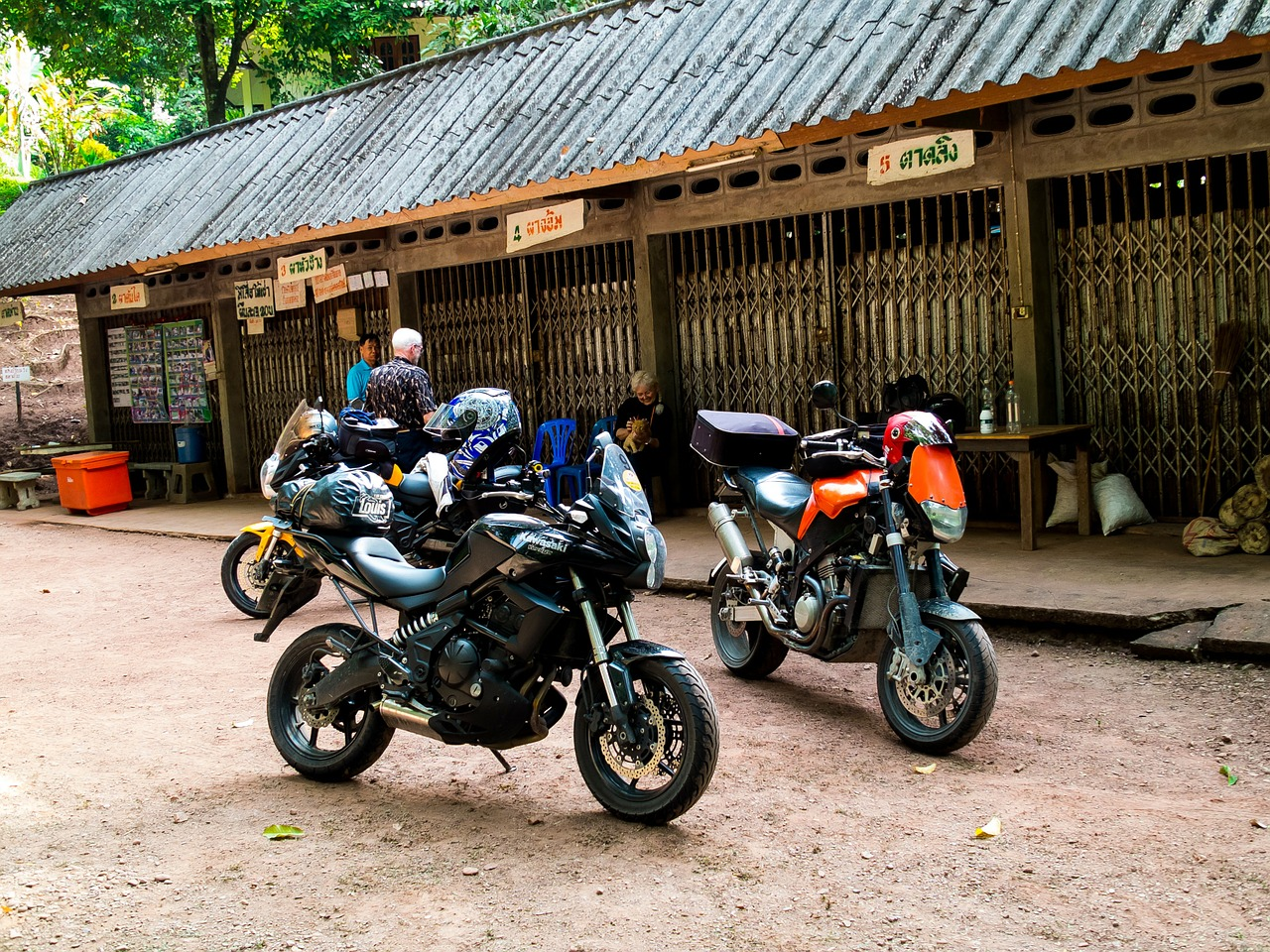 motorcycles motorrradtour north thailand free picture