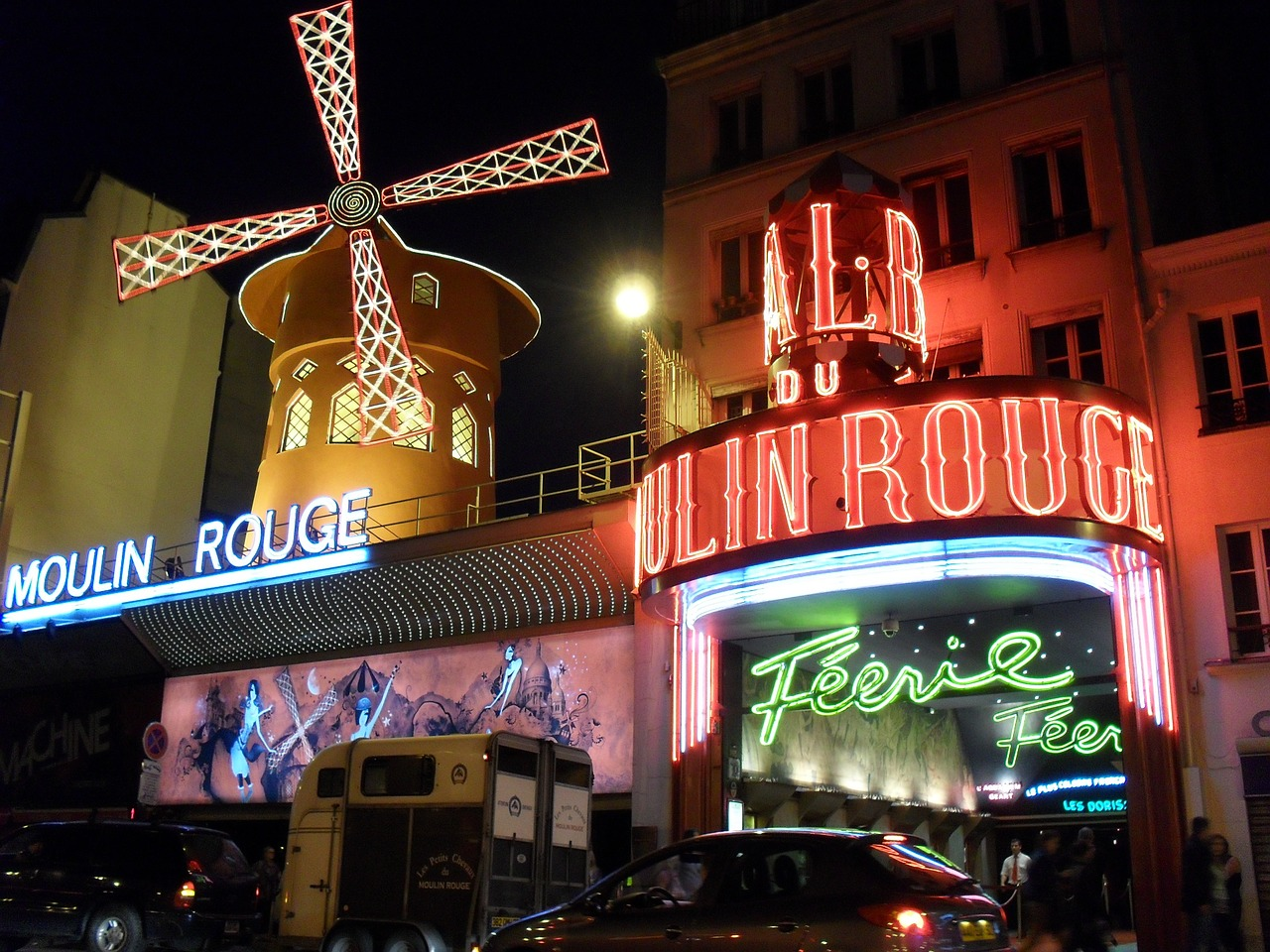 moulin rouge paris france free photo