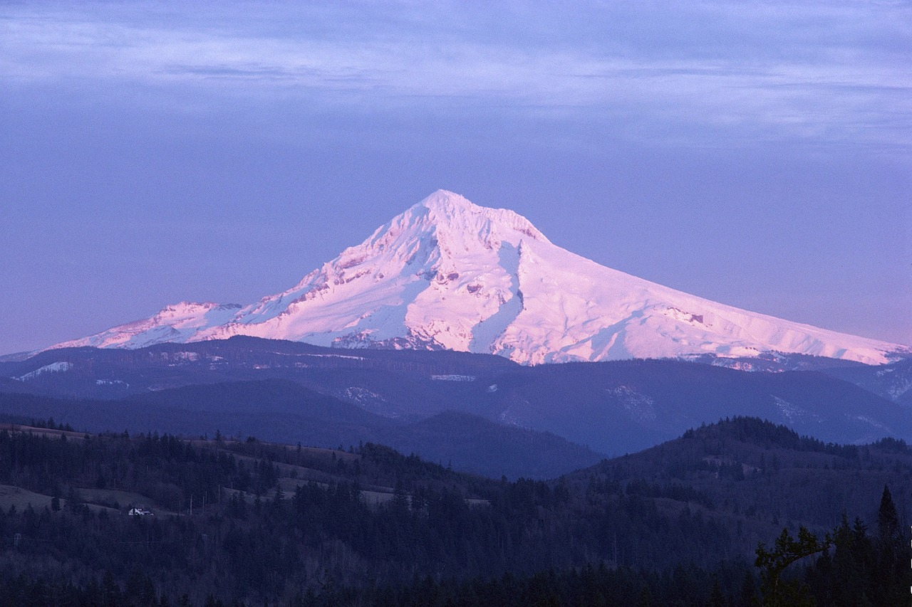 mount hood mountain free photo
