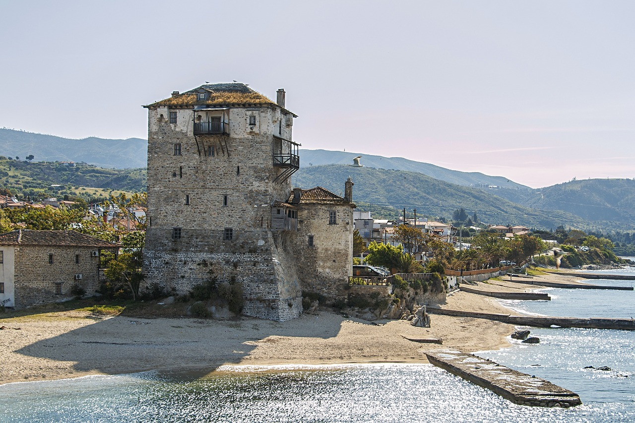 mount athos afss sveta gora free photo