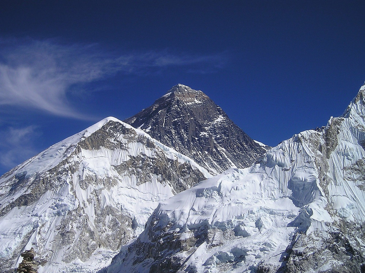 mount everest himalayas nepal free photo