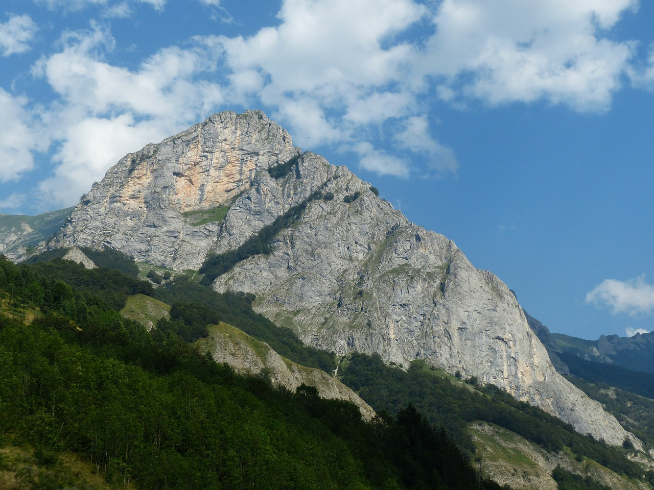 mountain maritime alps caire which porcera free photo