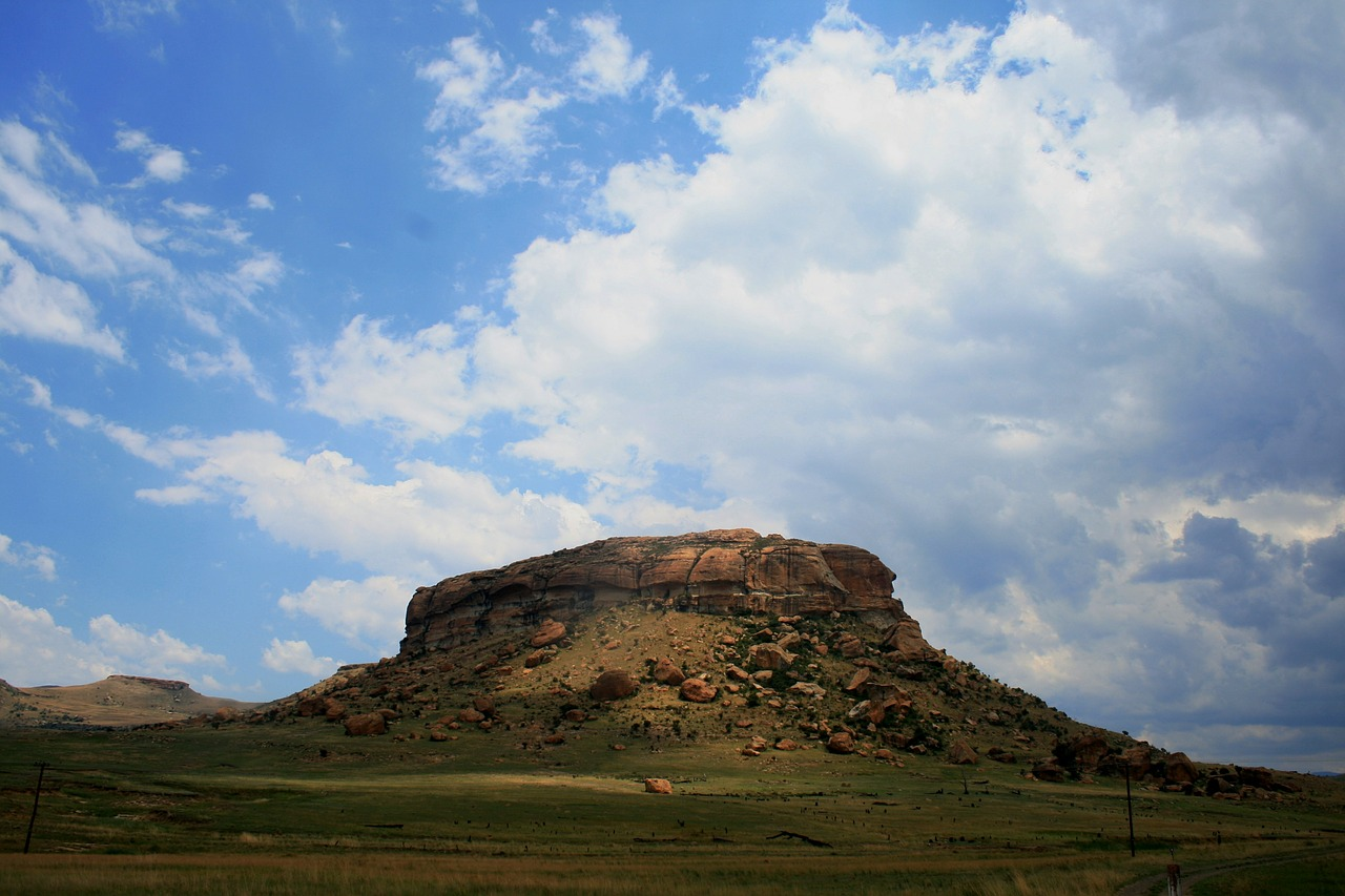 mountain butte rocky free photo