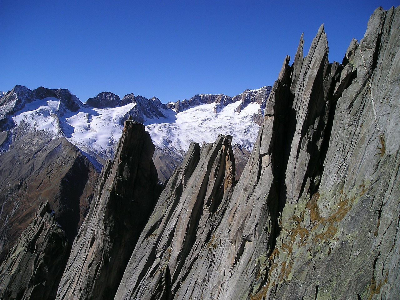 mountains west ridge salbit free photo