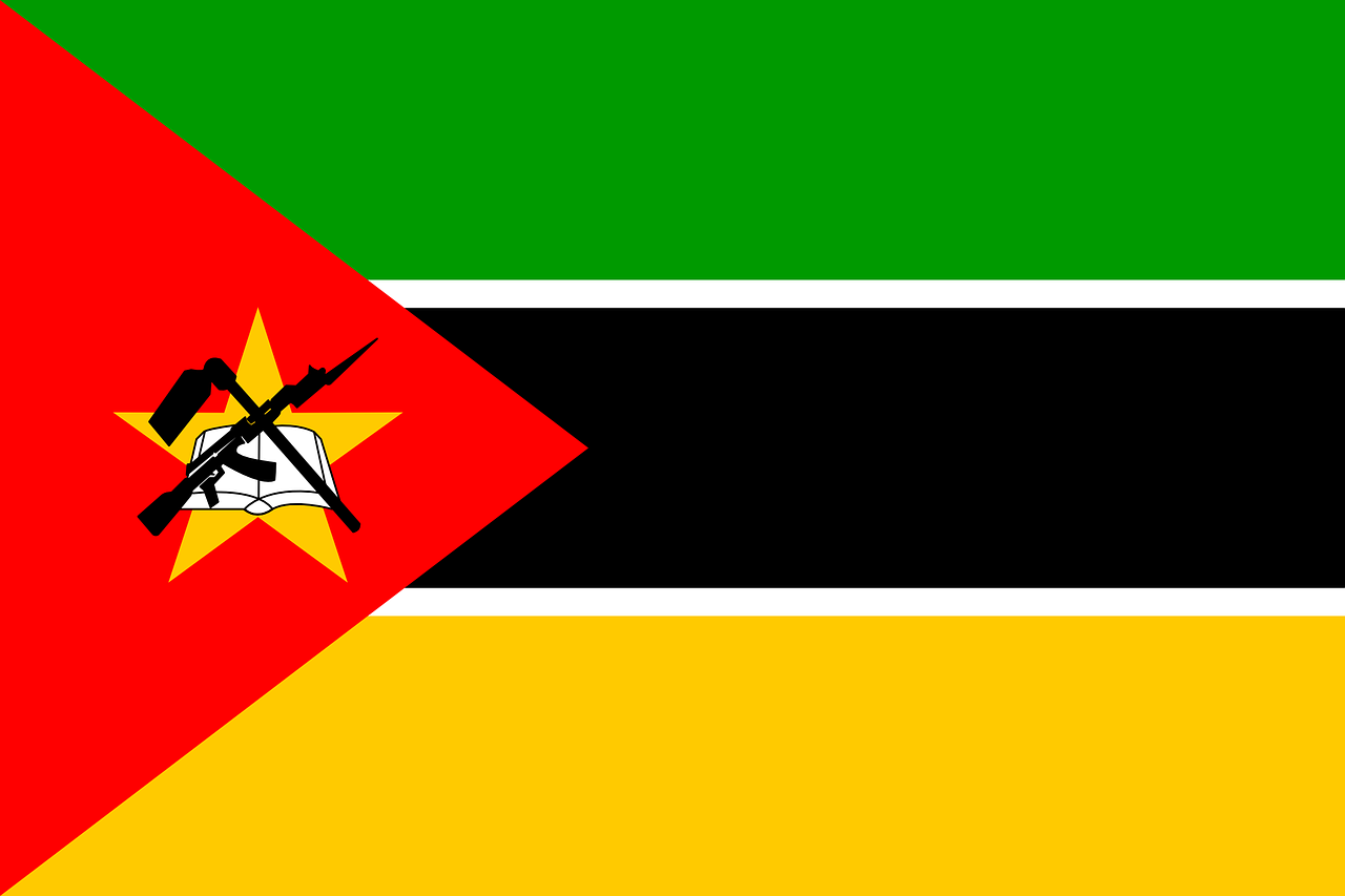 mozambique flag national free photo