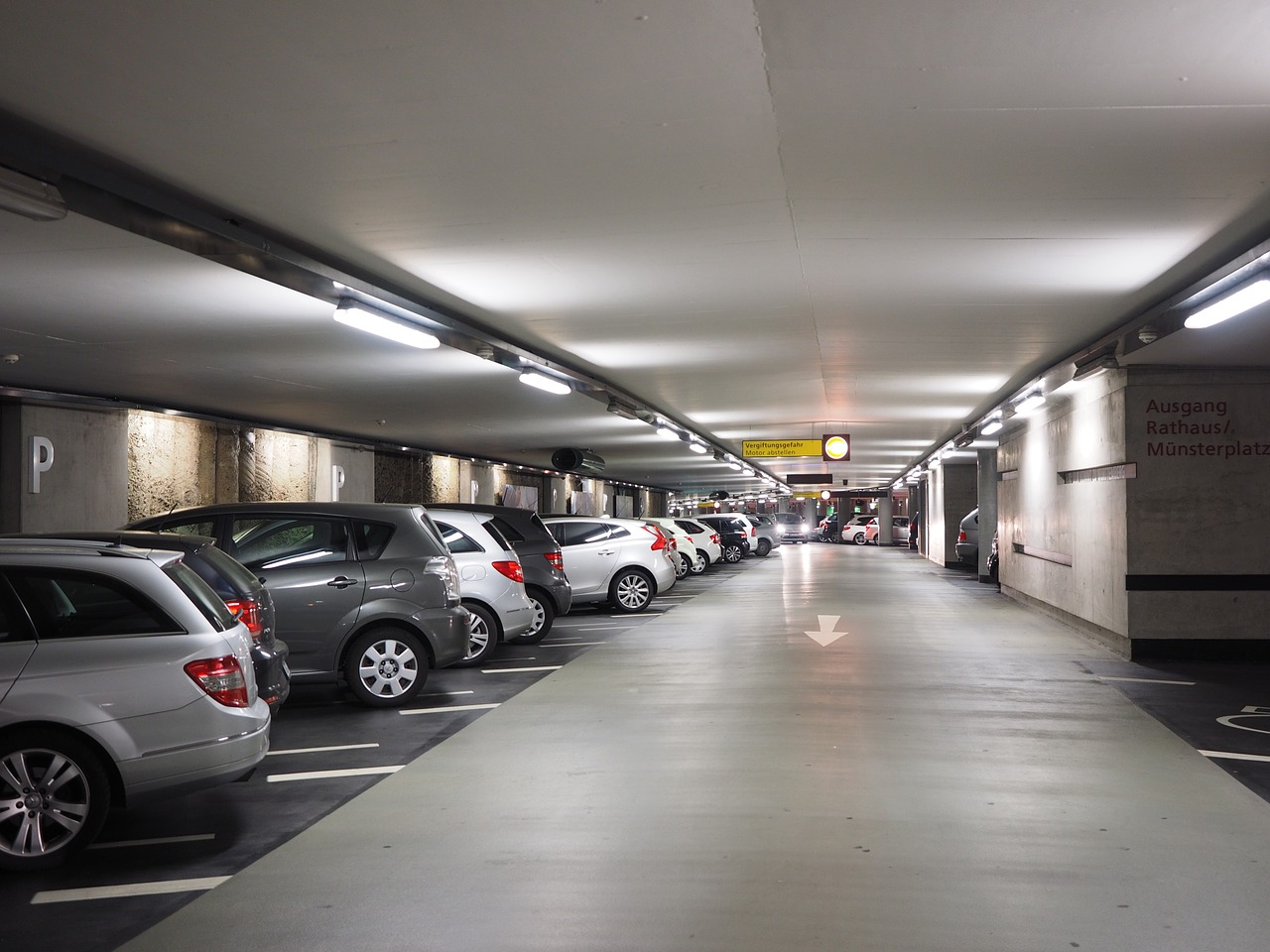 multi storey car park parking park level free photo