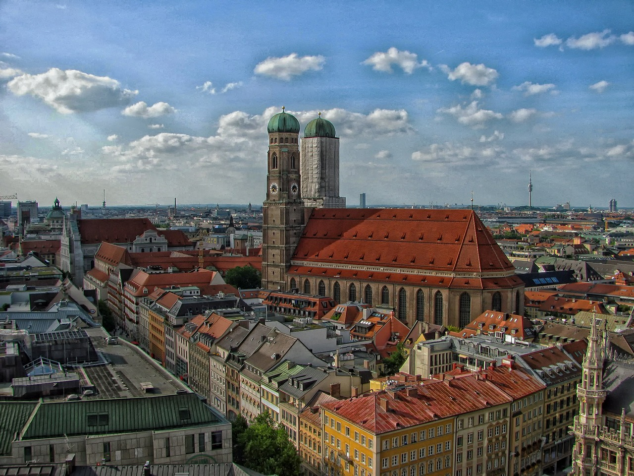 munich germany city free picture