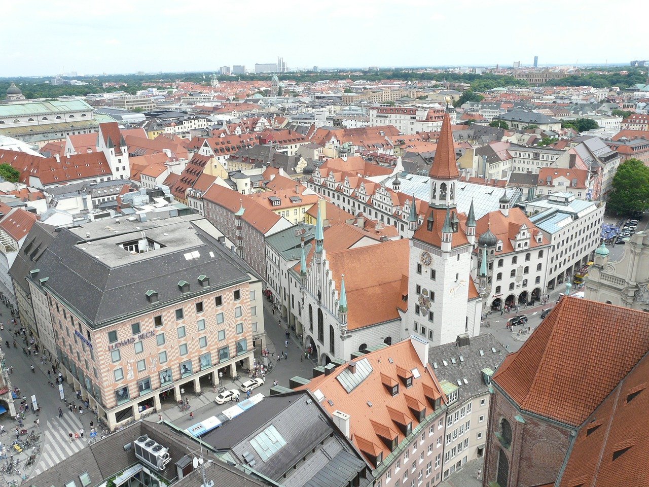 munich,city,outlook,vision,panorama,town center,center,free pictures, free photos, free images, royalty free, free illustrations, public domain