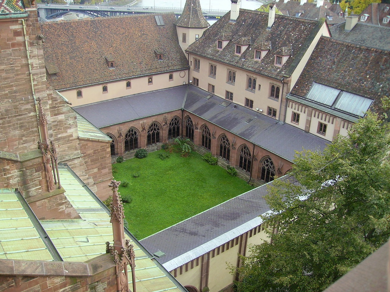 munster germany cloister free photo