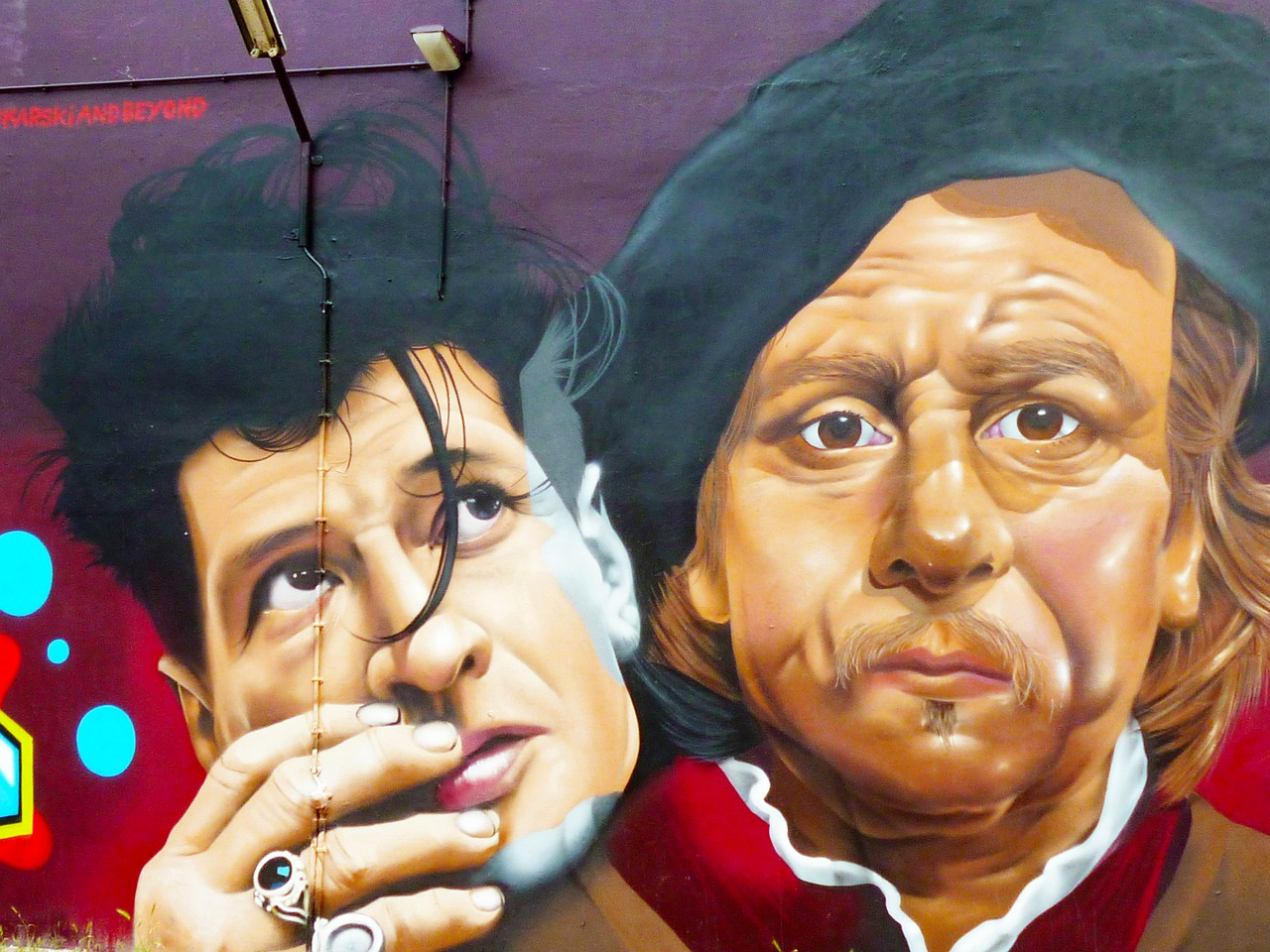 mural  amsterdam  rembrandt free photo