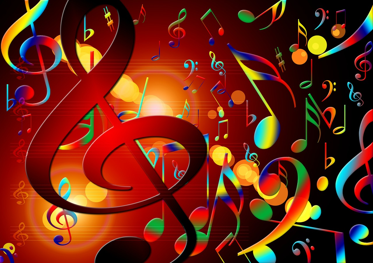 music treble clef sound free photo