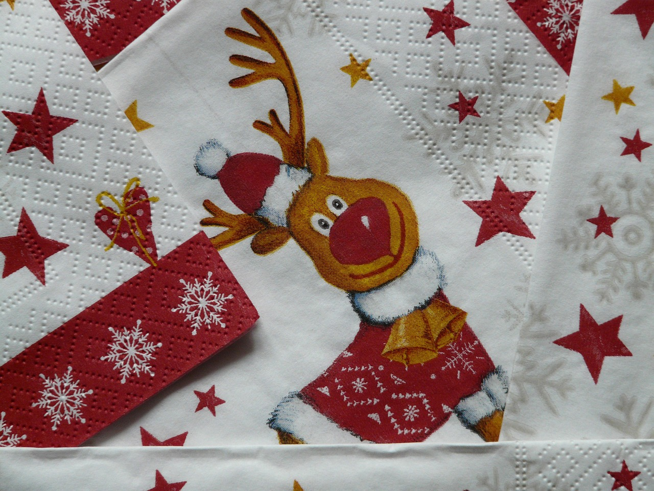 napkins rudolph napkin rudolf free photo