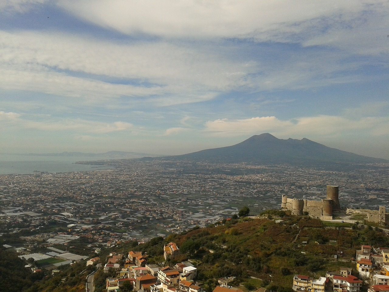 naples vesuvius gragnano free photo