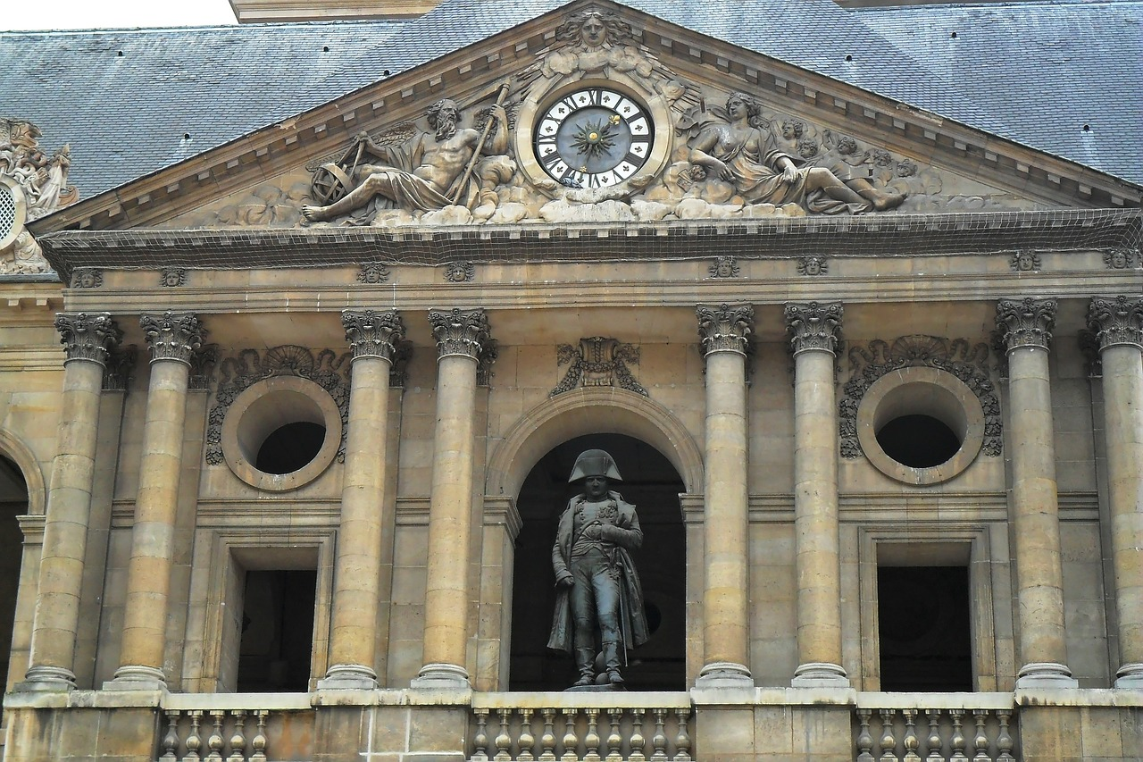 napoleon les invalides france free photo