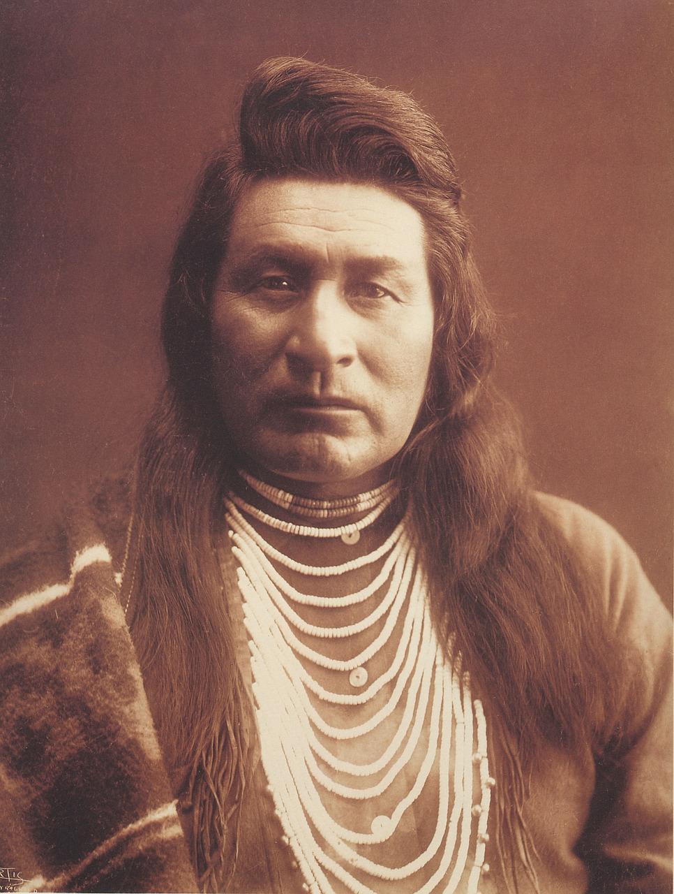 native american indian 1899 free photo