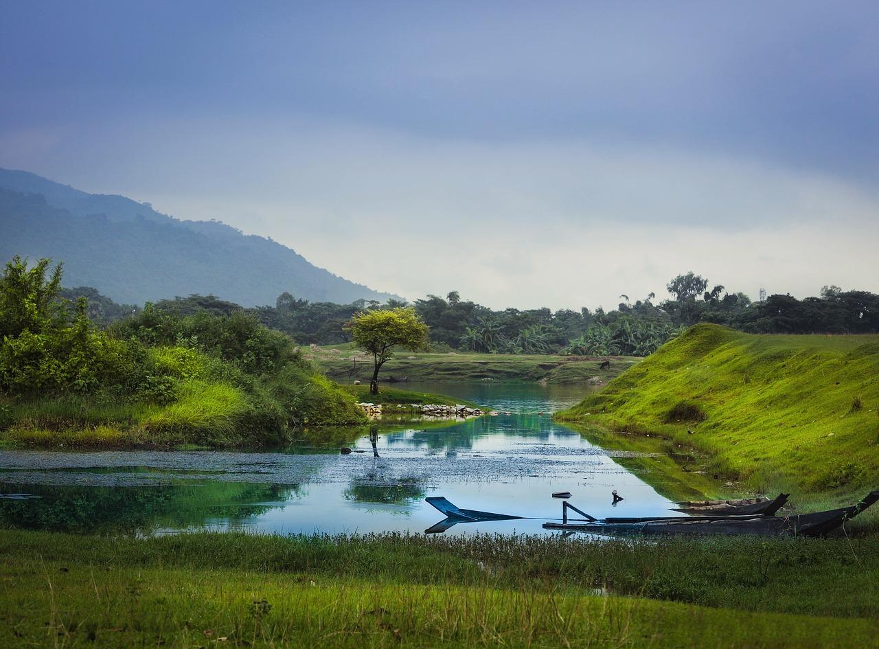Download Free Photo Of Nature Bangladesh Landscape Lake Asia