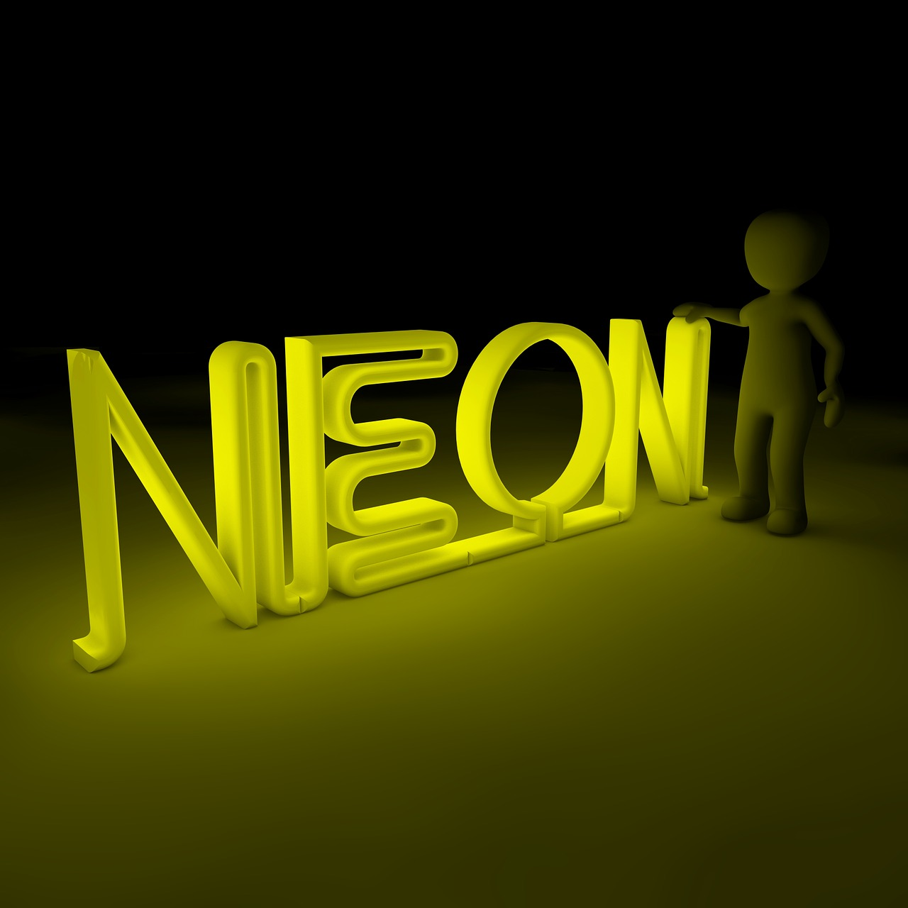 neon color light free photo