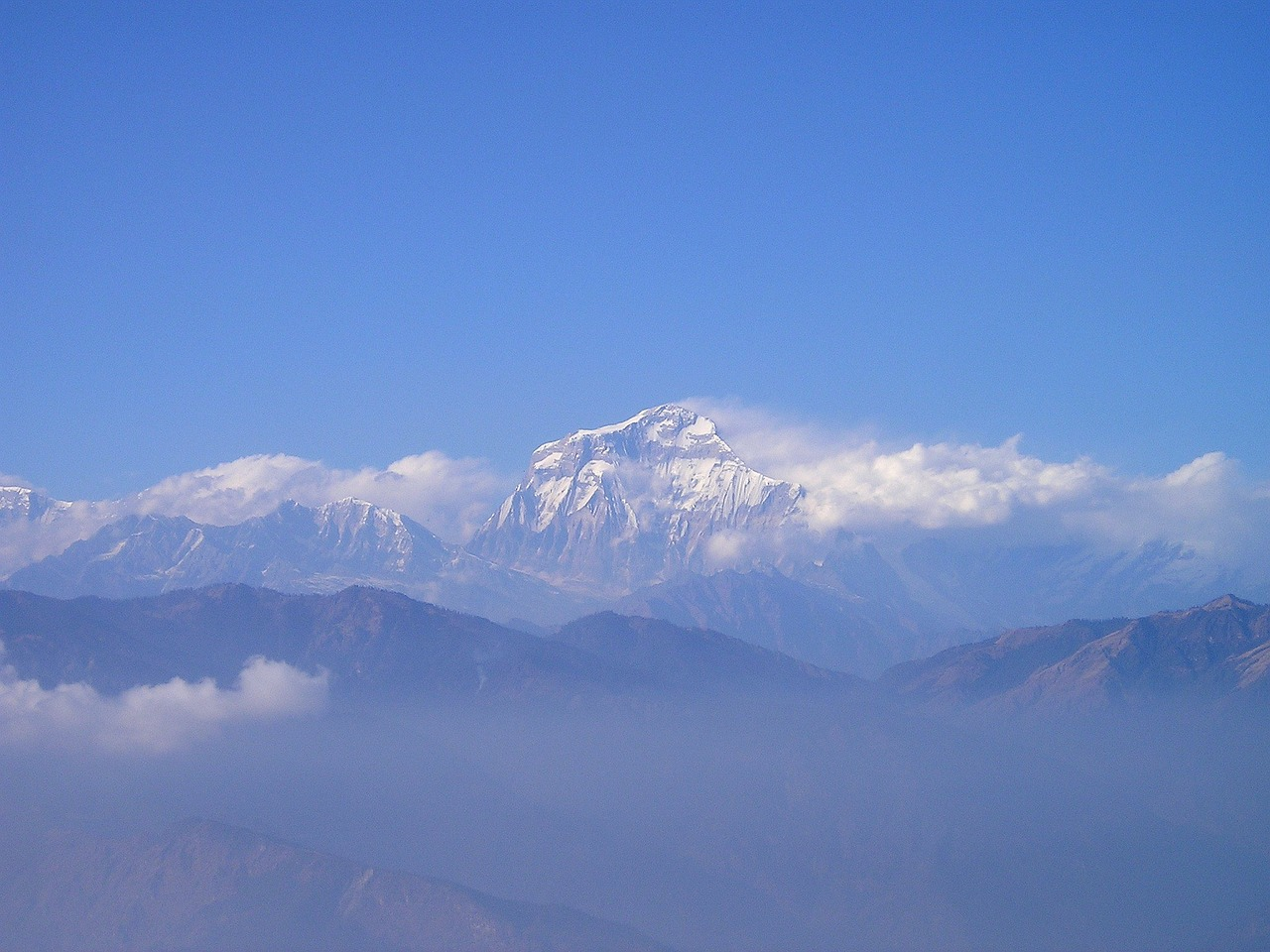 nepal himalayas mountains free photo