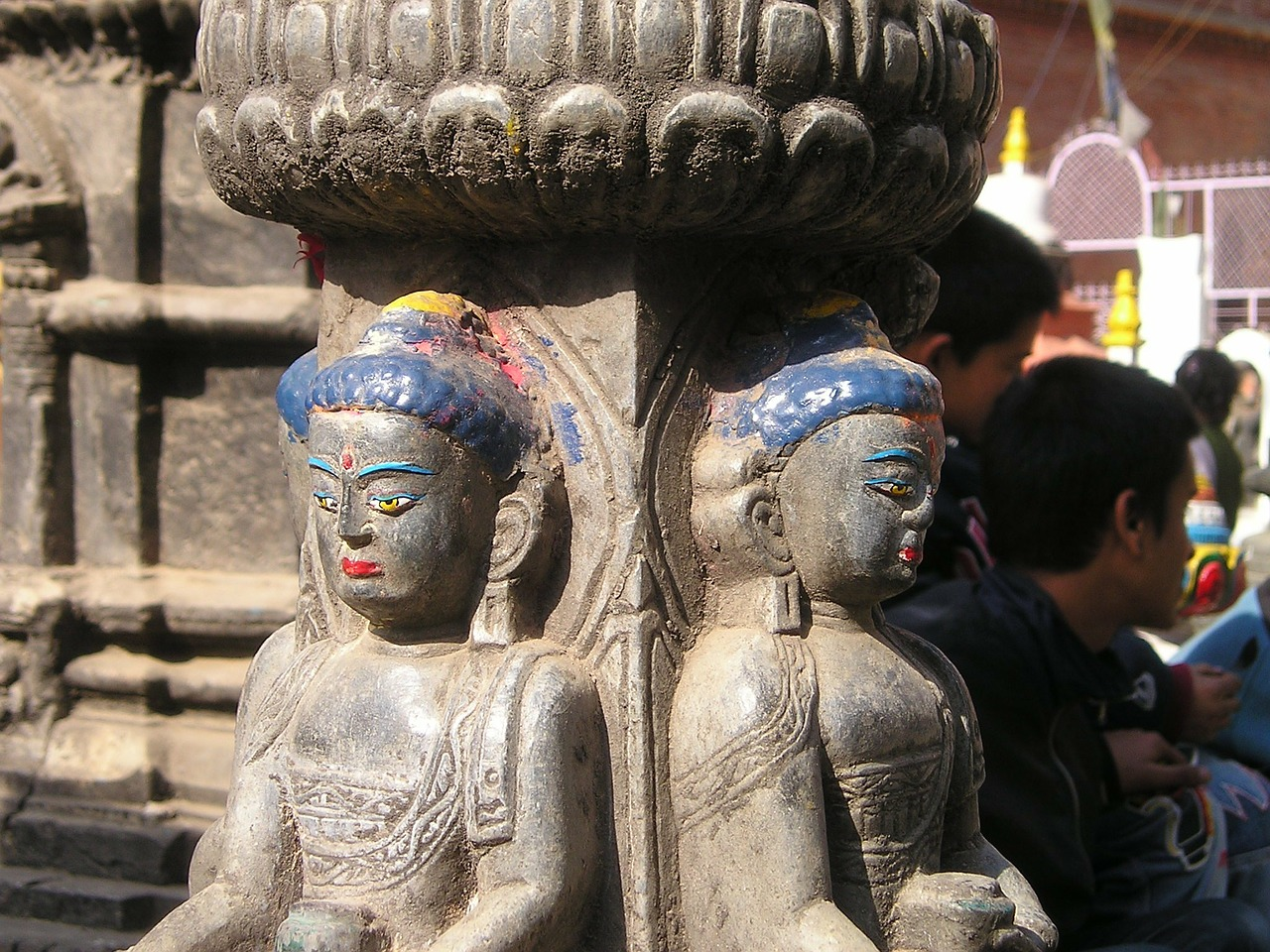 nepal,figures,statues,old,temple,buddhism,free pictures, free photos, free images, royalty free, free illustrations, public domain